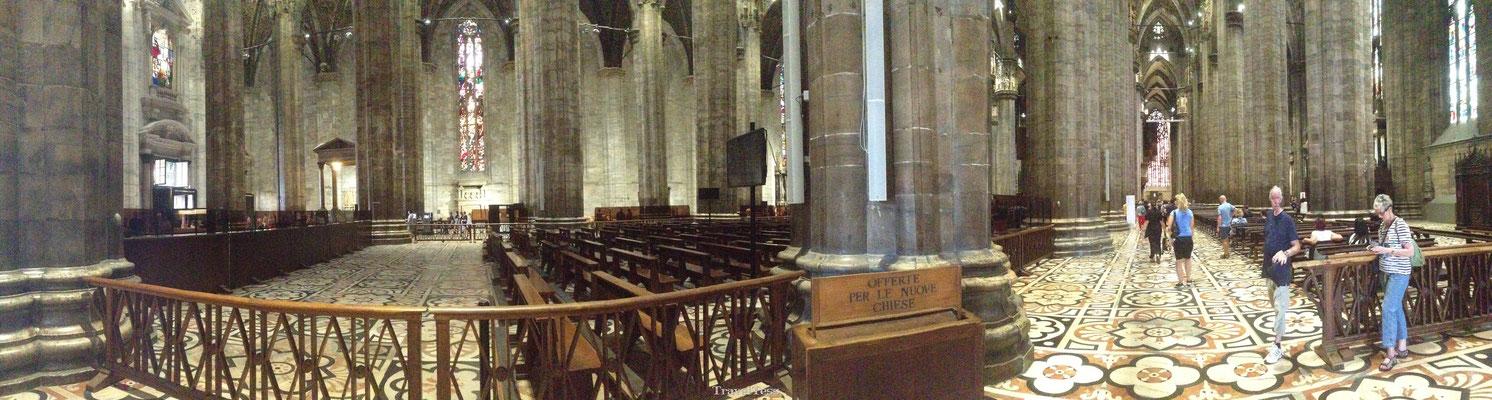 Dom van Milaan interieur