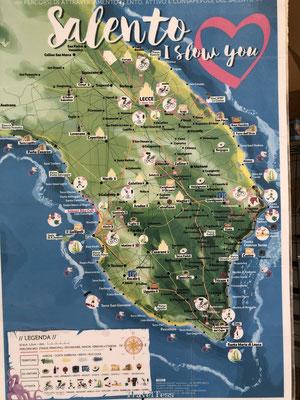Salento kaart