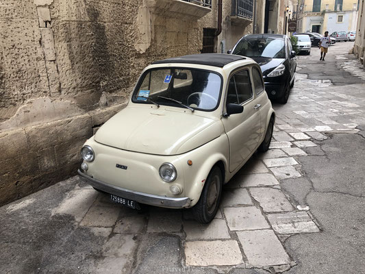 Oude Fiat in Lecce