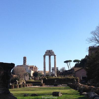 Bezoek aan Forum Romanum