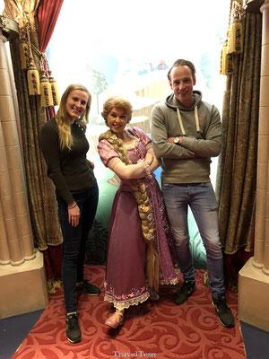 Ontmoeting met Rapunzel in Disneyland Parijs
