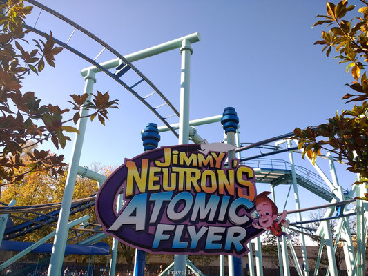 Jimmy Neutron attractie in Moviepark Germany