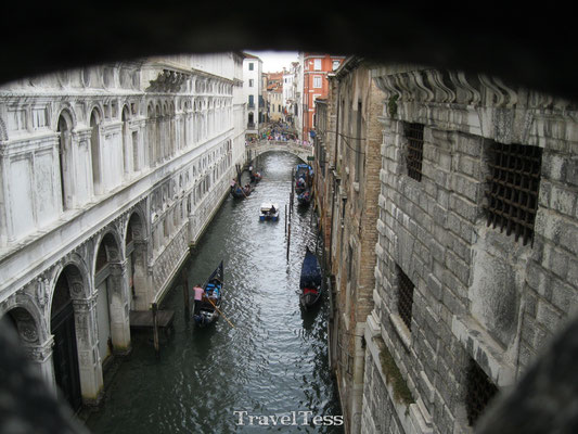Straatbeeld Venetië