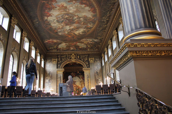 University of Greenwich Londen Painted Hall