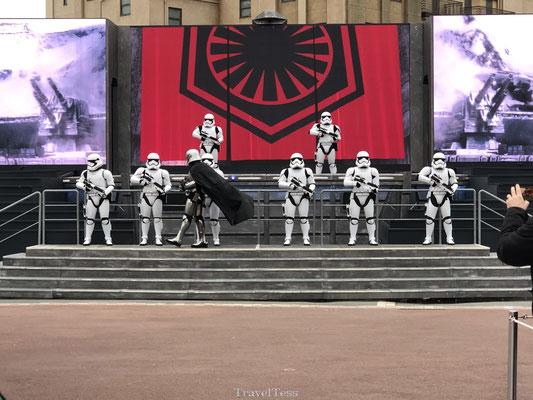Star Wars show in Disney Studio's Park
