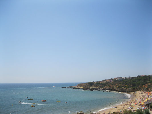 Strand in Albufeira
