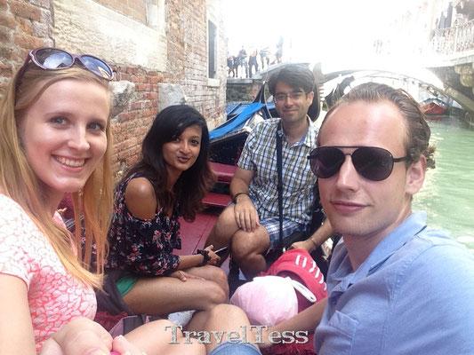 Gondol vaartocht Venetië