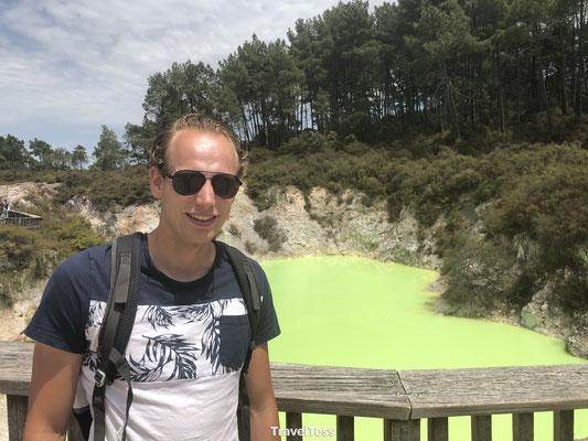 Groen meer Wai-O-Tapu