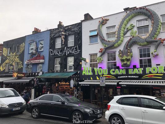 Bijzondere huisjes Camden Town
