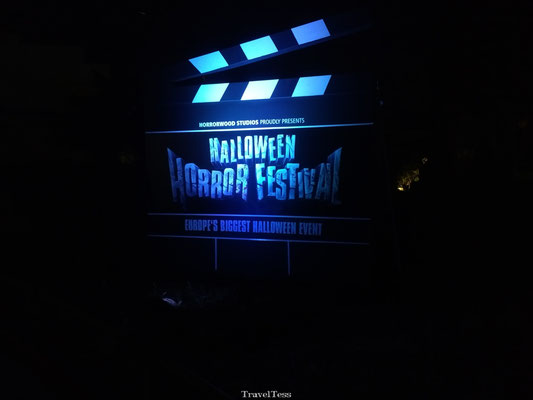 MoviePark Germany tijdens Halloween