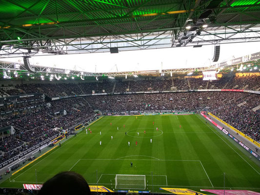 Stadionbezoek Monchen Gladbach