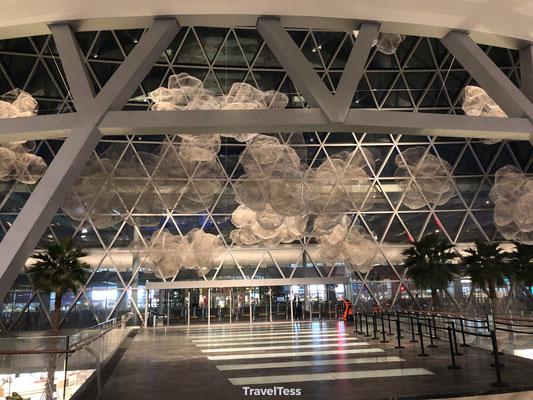 Ingang vliegveld Singapore