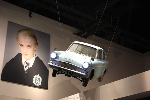 Vliegende auto Harry Potter