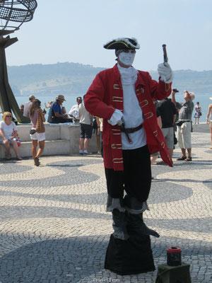 Straatartiest Lissabon