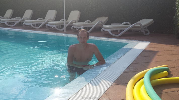 Zwembad Ristorante Hotel Papa