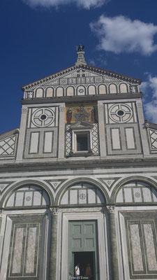 Kerk op heuvel Florence