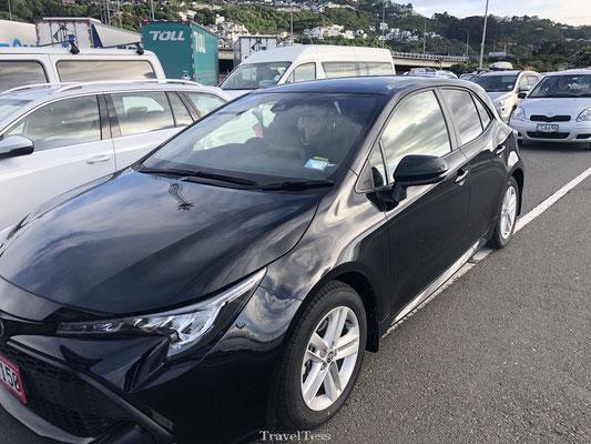 Met de auto op de ferry in Nieuw-Zeeland