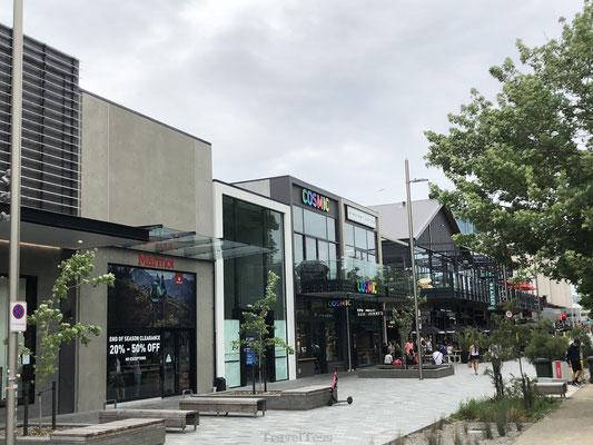 Winkelstraat in Christchurch