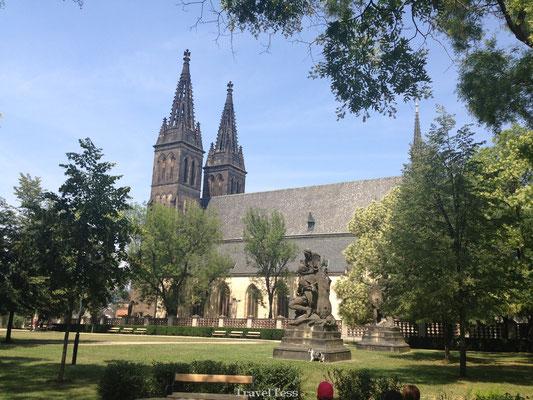 Kerk Vysehrad Praag