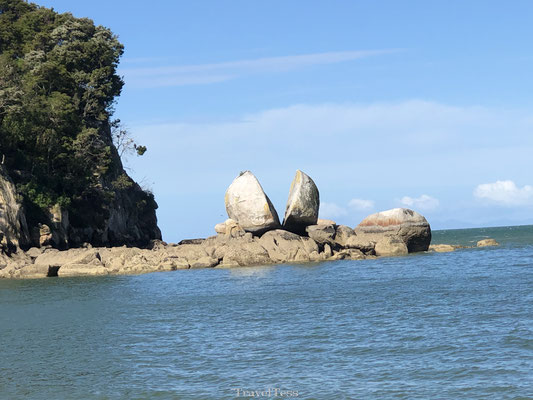 Split Apple Rock Abel Tasman Park