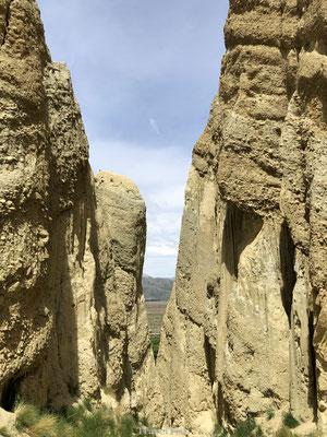 Steile ravijnen Clay Cliffs