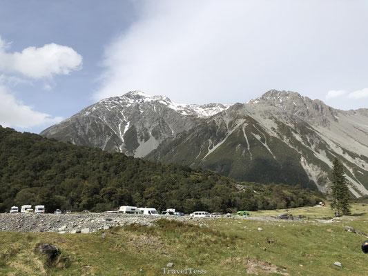 Kea Point Mount Cook hike