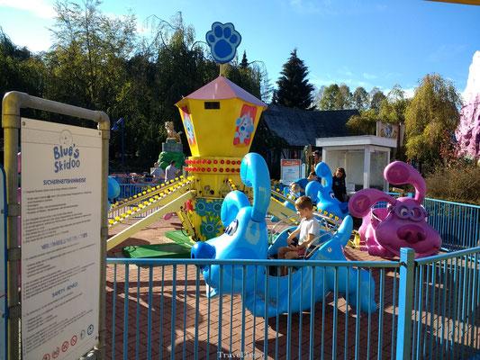Blue's Skidoo attractie