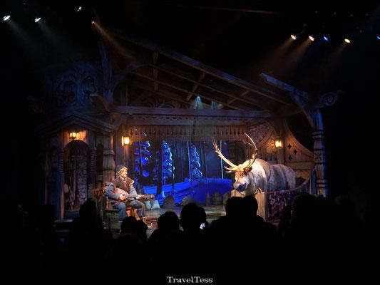 Frozen show in Disneyland Parijs