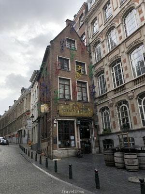Straatbeeld van Brussel