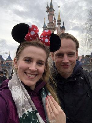 Verloofd in Disneyland Parijs