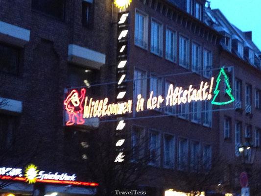 Kerstversiering Kerstmarkt Düsseldorf