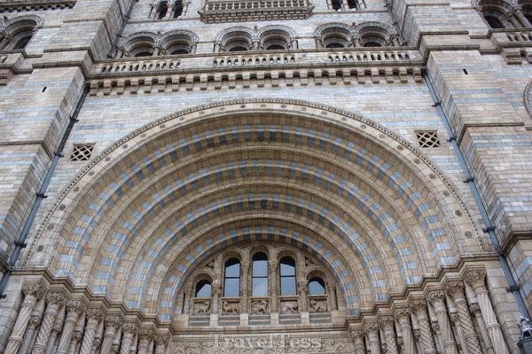 Poort Londen Natural History Museum
