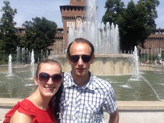 Castello Sforzesco fontein