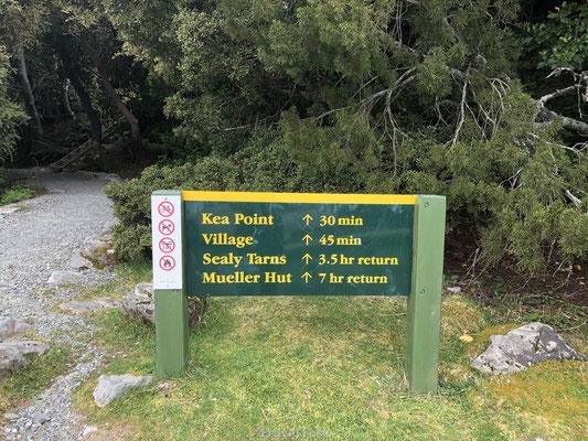 Kea Point Mount Cook