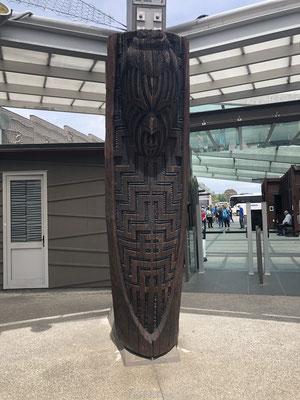 Maori kunst in Te Puia