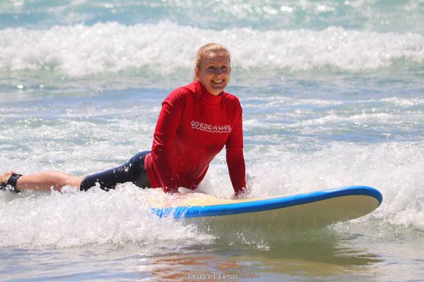 Surfles in Australië