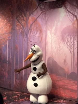 Olav in Disney Studio's Park