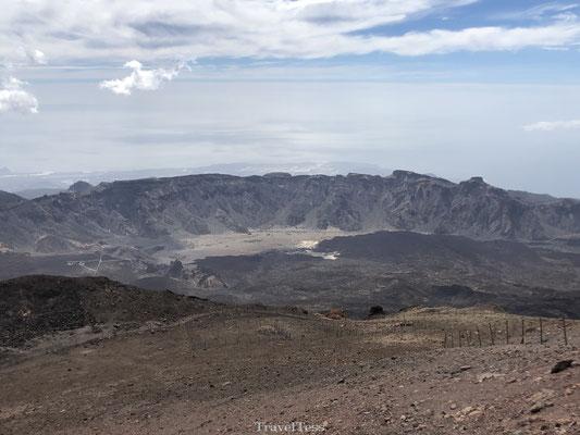 El Teide krater