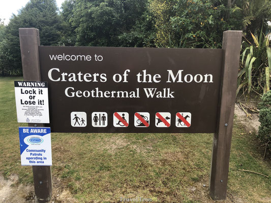 Craters of the Moon bord
