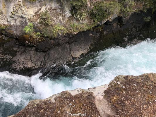 Sterke stroming Huka Falls