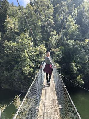 Hangbrug in Abel Tasman Park