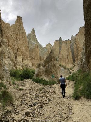 Clay Cliffs geologische attractie