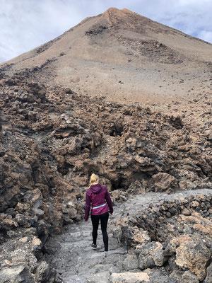 Hike bij El Teide vulkaan