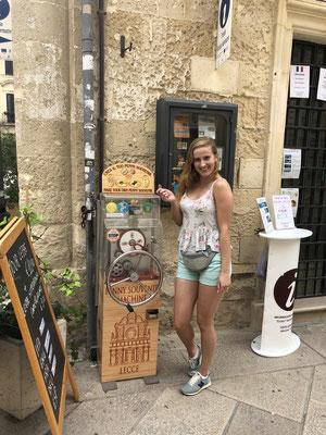 Penny Coin van kerk in Lecce
