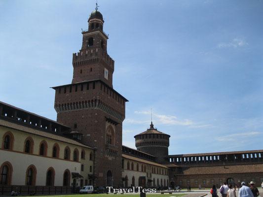 Castello Sforzesco Milaan