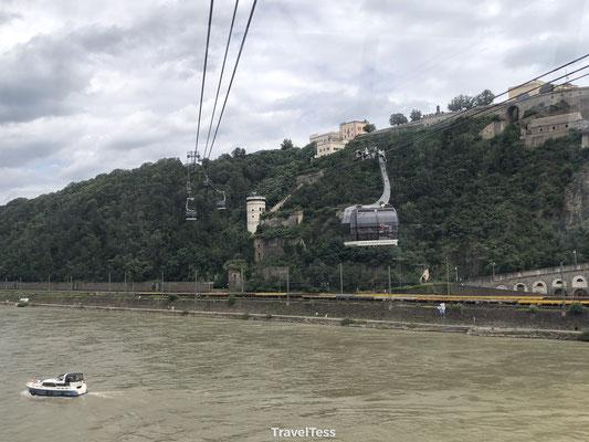 Kabelbaan over de Rijn