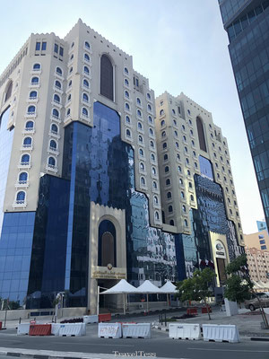 Bijzonder flatgebouw Qatar