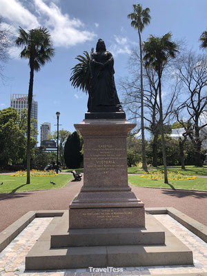 Monument in stadspark Auckland
