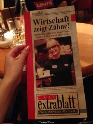 Duitse menukaart