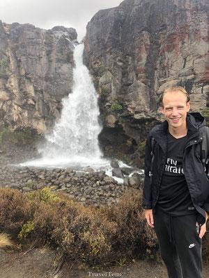 Taranaki Falls in Tongariro National Park